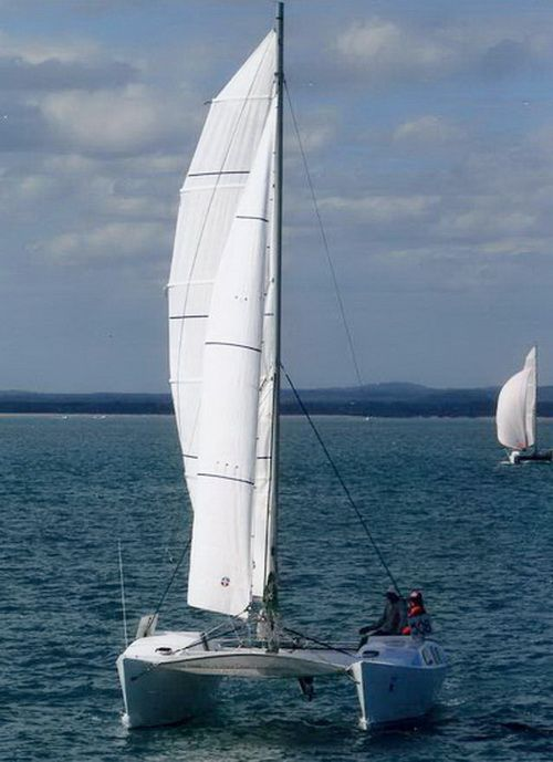 25ft catamaran plywood single chine   Boats in 2019