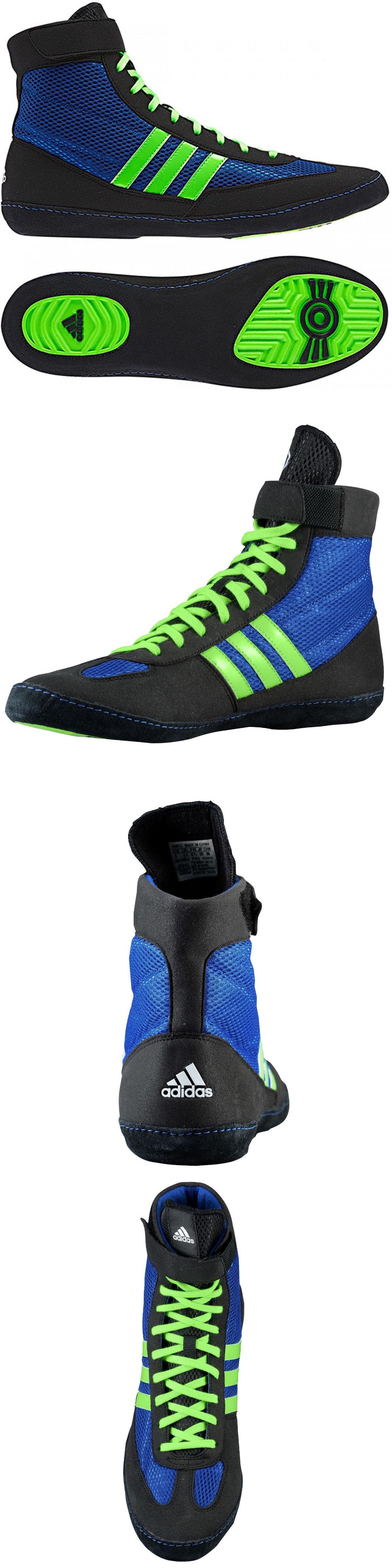 Calzado: adidas agencia 79799 velocidad 4 zapatos de lucha real / verde