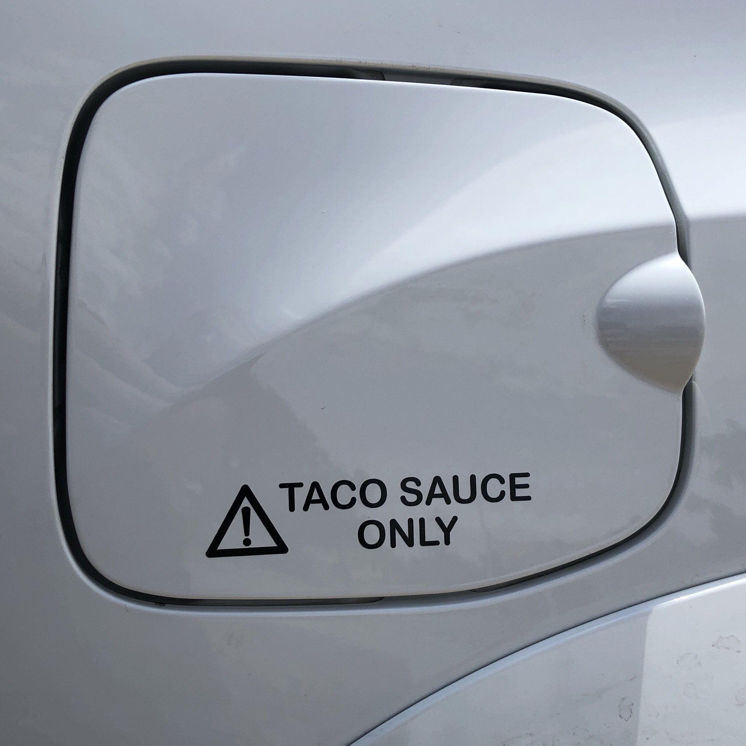 Taco sauce only toyota tacoma sticker made from high quality sign vinyl by a fellow tacoma owner art tacoma toyota taco sticker signvinyl tacomalife