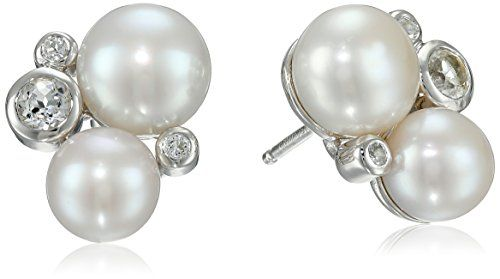Honora Sterling Silver Freshwater Cultured Pearl White Topaz Cluster Earrings Honora http://www.amazon.com/dp/B00SGX7LC8/ref=cm_sw_r_pi_dp_7Duivb1KMRHFQ