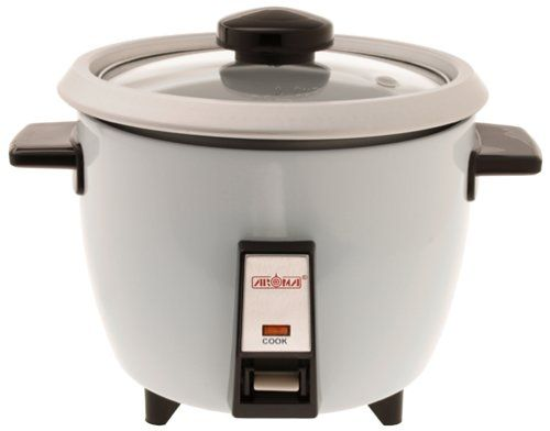 Aroma Housewares ARC703G 3-cup Rice Cooker with Glass Lid