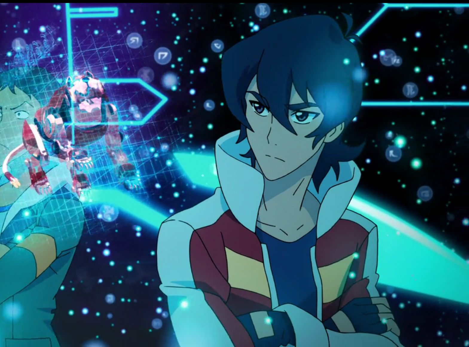 Keith chosen to be the Paladin of the Red Lion from