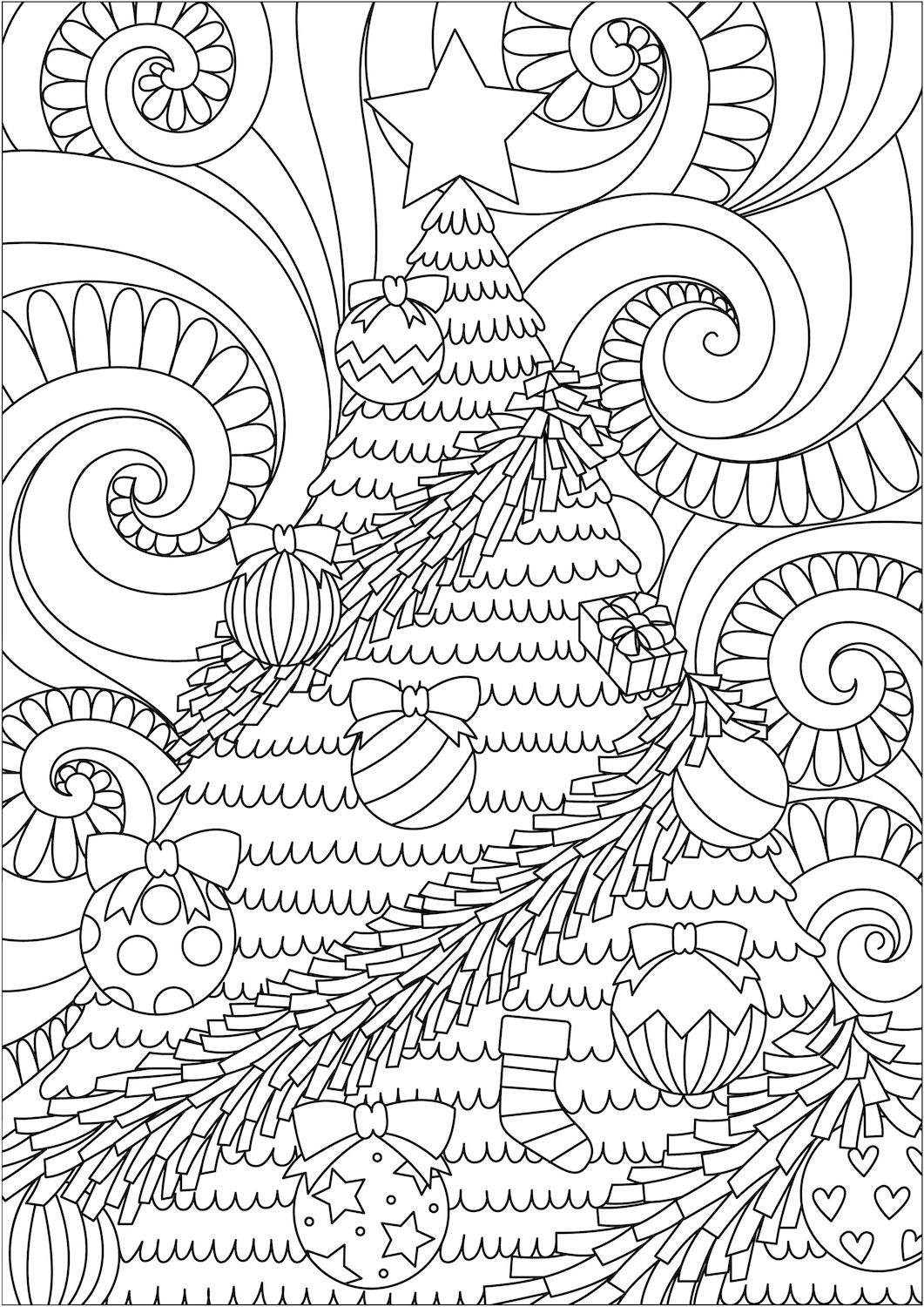 Christmas Coloring Pages–Celebrate Christmas with coloring fun. Kids ...