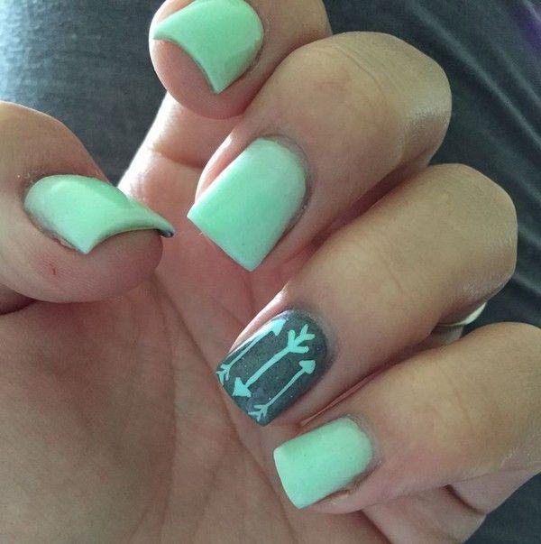 Cute Nail Designs For Short Nails Tumblr #NailDesigns #