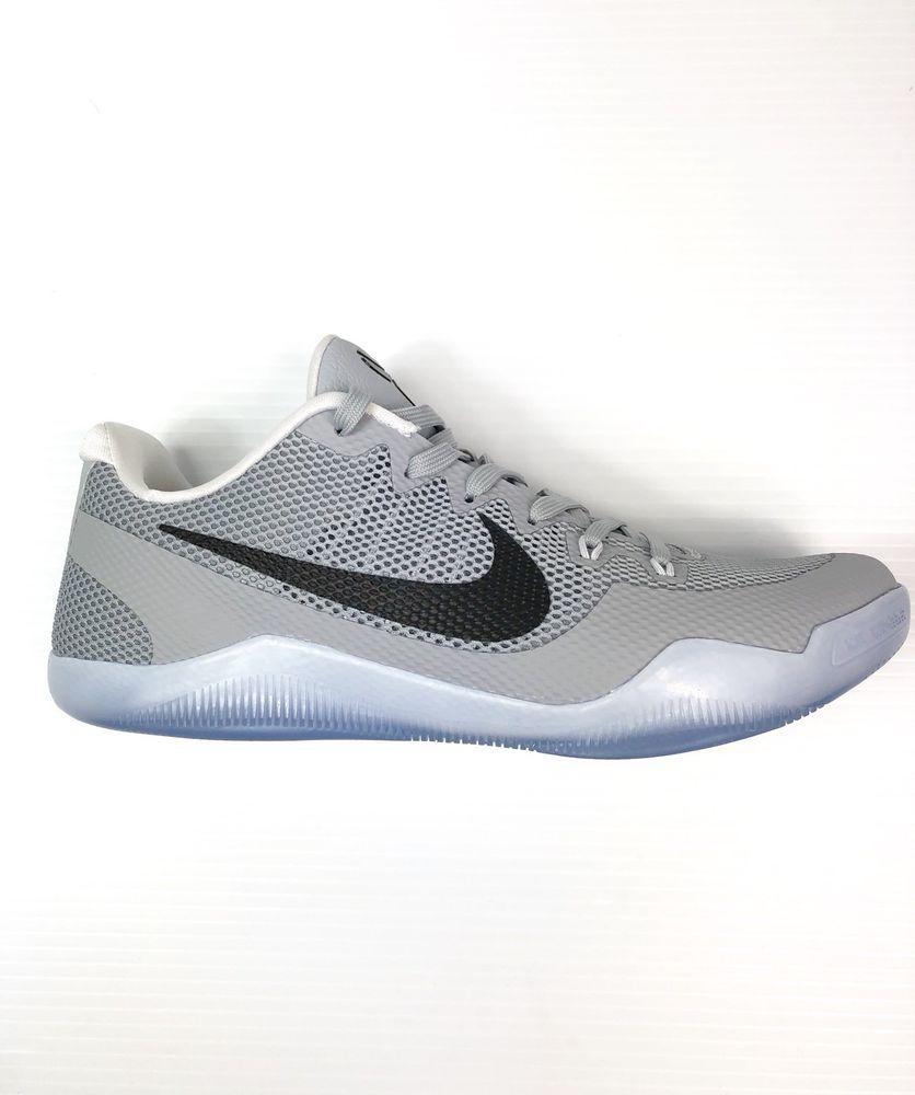 Nike Kobe XI TB Promo Basketball Shoes Wolf Grey Size 11.5 Mens 856485-002