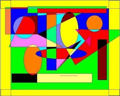 Abstract Art Geometric Shapes   Abstract Art - Shape Wonder World ...