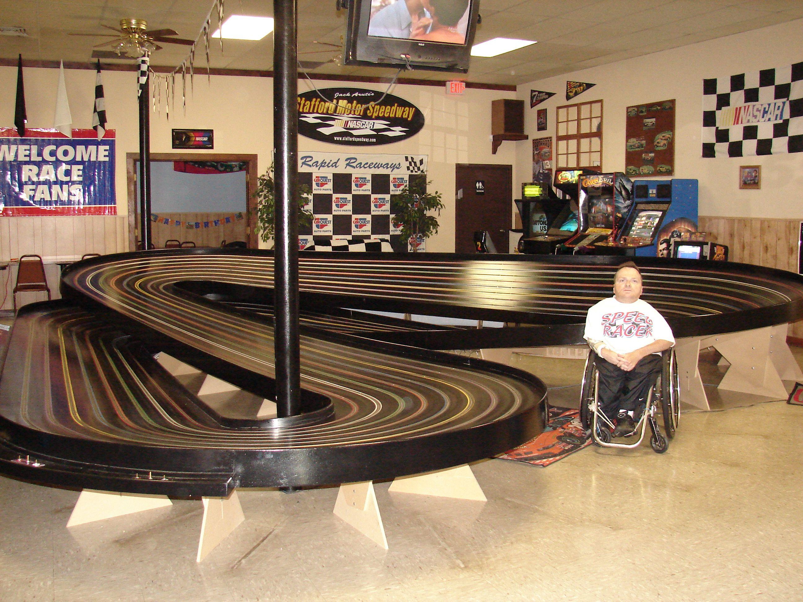 Rapid Raceways Slot Car Track Plainville Connecticut Slot Car Tracks Race Track Rapids