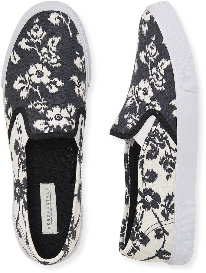 This slip-ons could be cute with jeans and shorts.