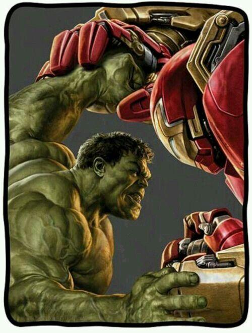 hulkbuster vs hulk comics pinterest