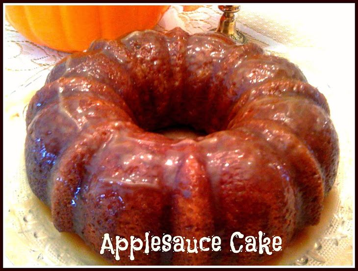 Applesauce Cake With Buttermilk Glaze Recipe Desserts With Sugar Butter Oil Eggs Self Rising Flour Cinnamon Nutmeg Applesauce Cake Applesauce Sweet Tea