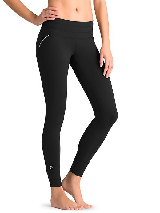 d17365b10177c1 Relay Tight #athleta best running tights ever. Visit www.athleta.com / back  pocket is big enough to fit my Samsung galaxy 4. No see-through.