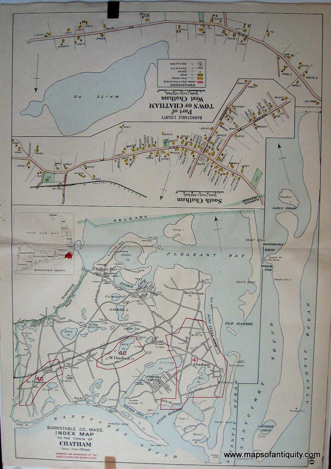 34 Best Maps & Ephemera of Chatham MA images
