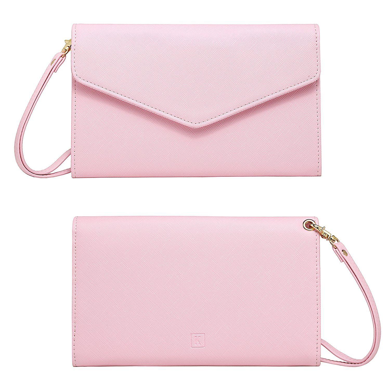 86521f872eb1 Amazon.com | Krosslon Travel Passport Holder Wallet for Women Rfid ...
