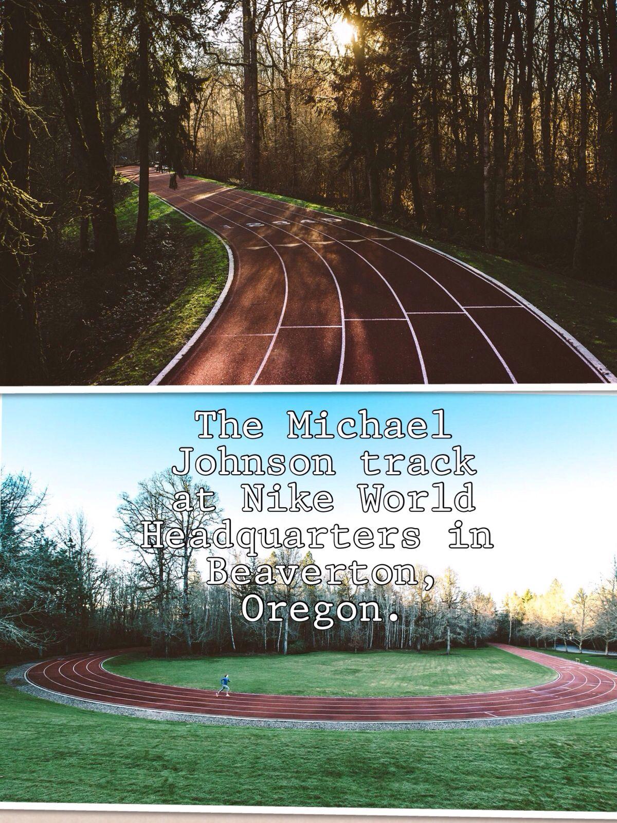 285053a3b8ae3a The Michael Johnson track