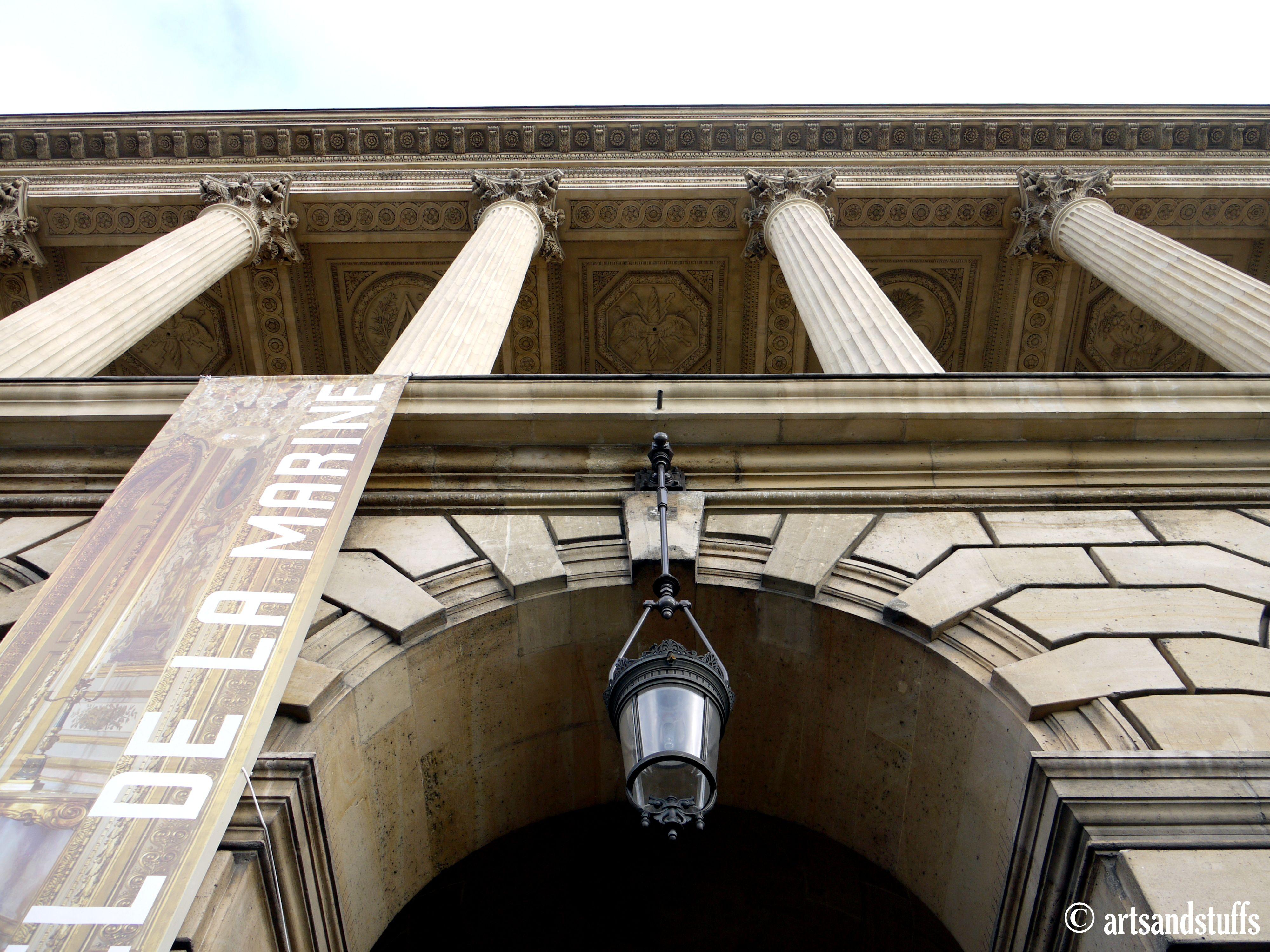 L Hotel De La Marine Fut Construit Par Jacques Ange Gabriel