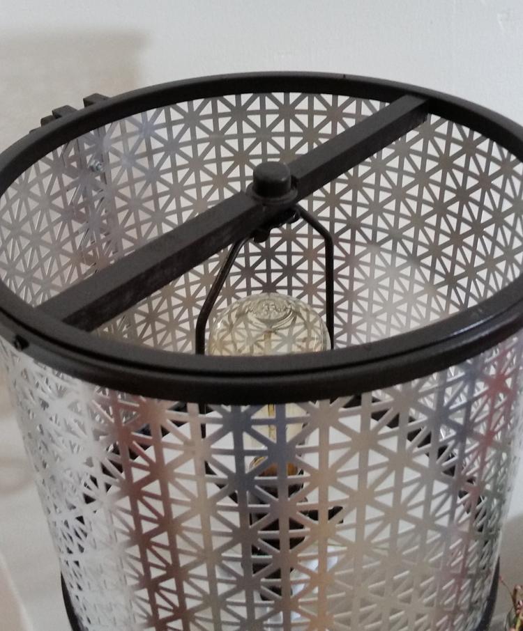 How To Create A Diy Metal Lampshade Metal Lamp Shade Diy Lamp Diy Lamp Shade