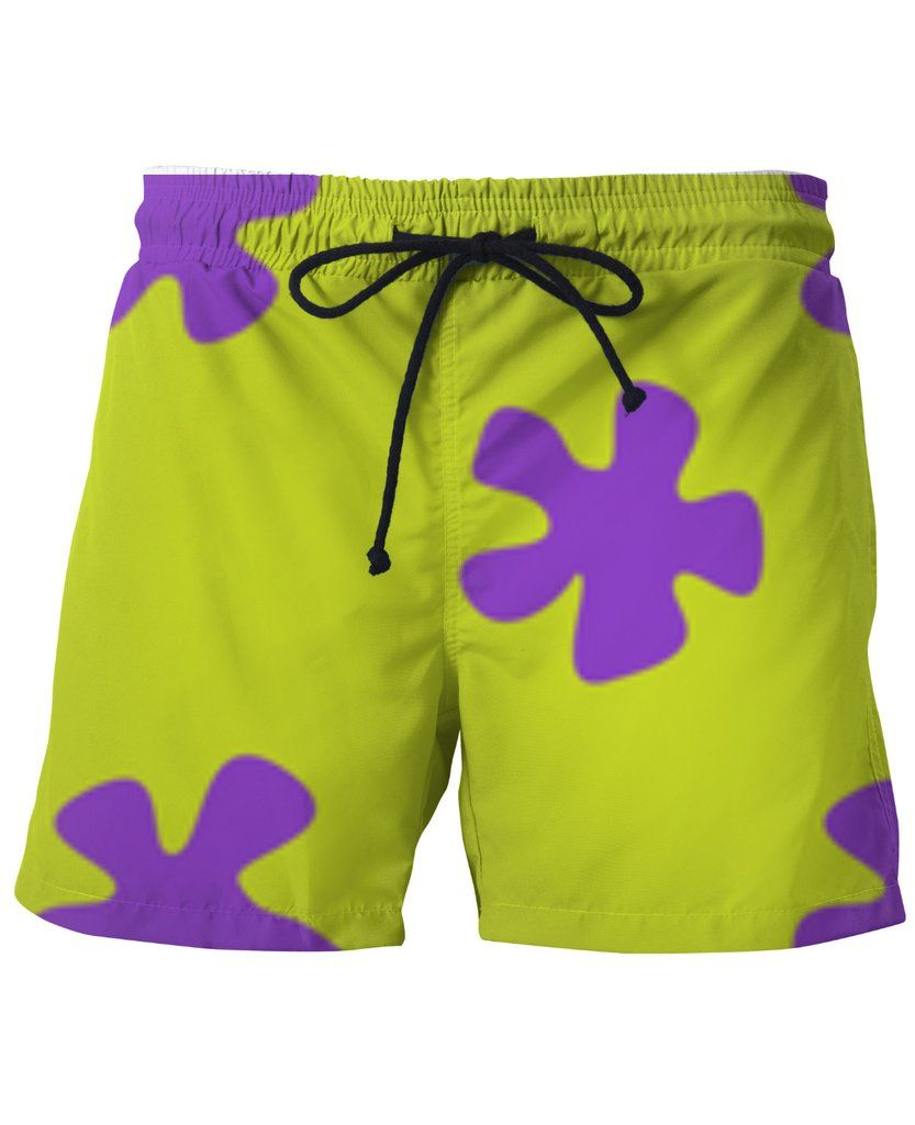80cbbabd24 Patrick Star Swim Shorts THESE VERY COOL MEN'S SUMMER SHORTS ARE ONLY  AVAILABLE HERE ON RAGEON
