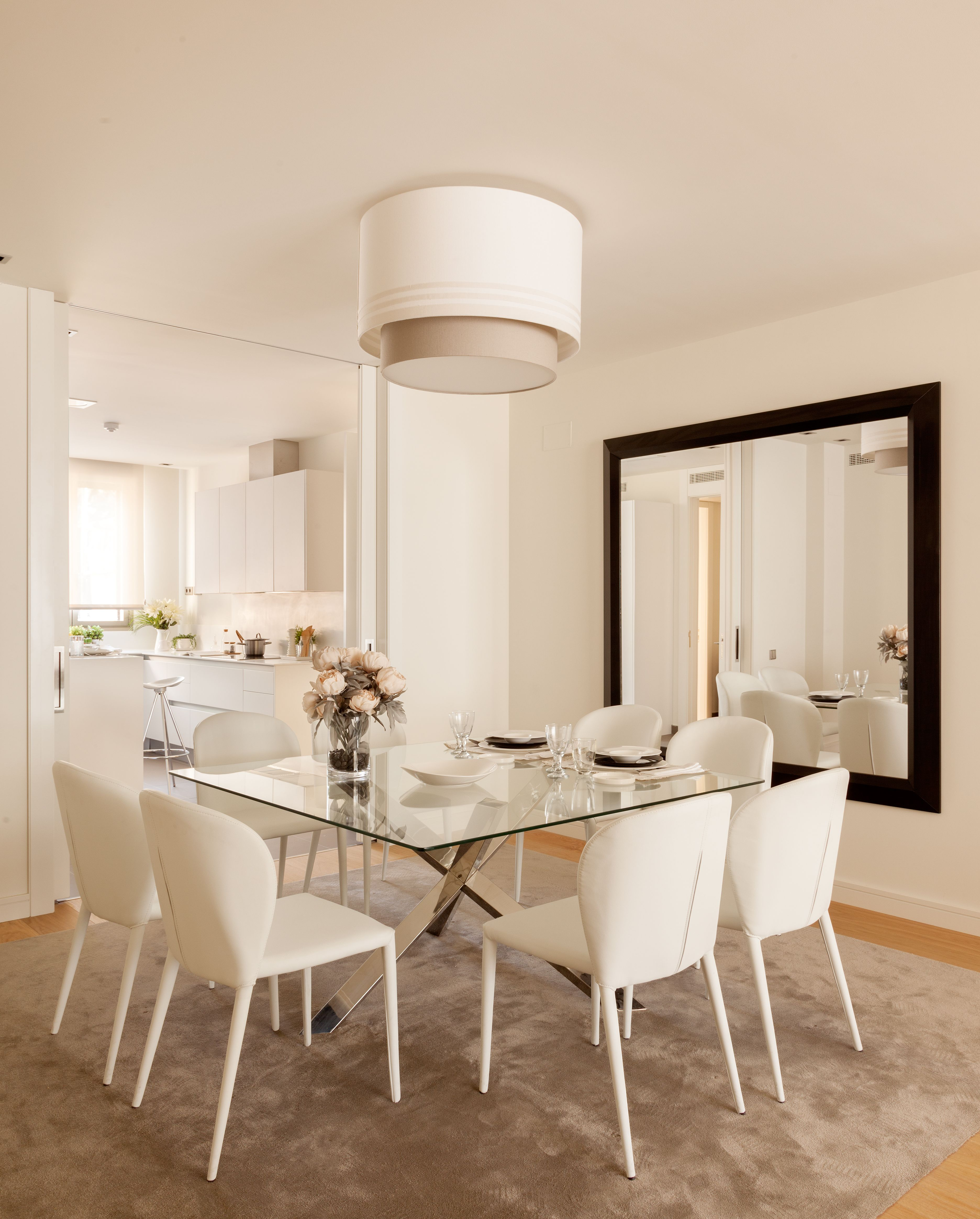 Sala Da Pranzo Moderni.Sala Da Pranzo Contemporaneo Moderno Bianco Nel 2019