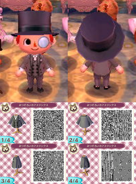 Animal Crossing New Leaf Qr Code Acnl Pinned By Stephy