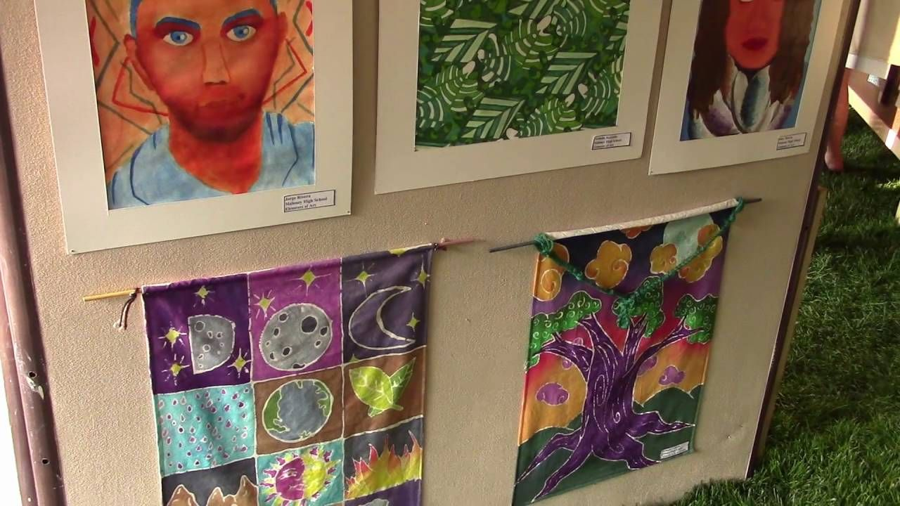 Arts in the Park: Maloney Art and Music Departments - YouTube