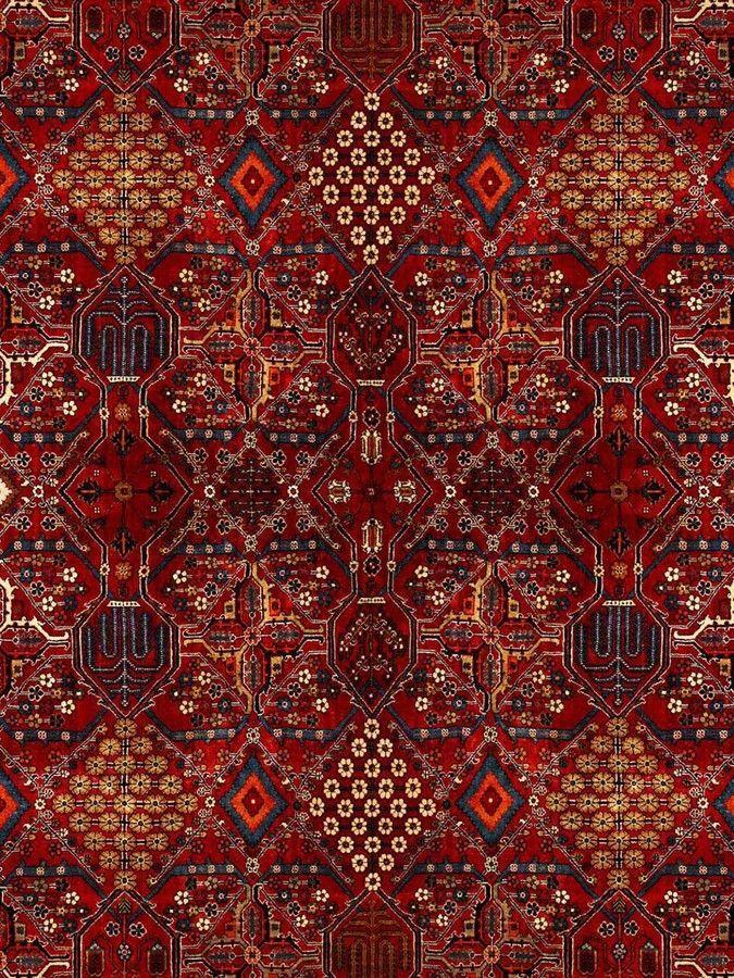 Dark Red Pattern Wallpaper