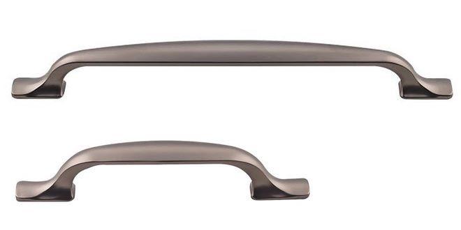 the ash gray finish torbay series decorative cabinet hardware