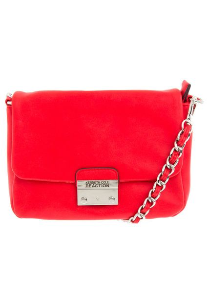 1165e6cf1 Bolso Kenneth Cole Reaction color rojo, elaborado en PVC, diseño casual con  corte rectangular