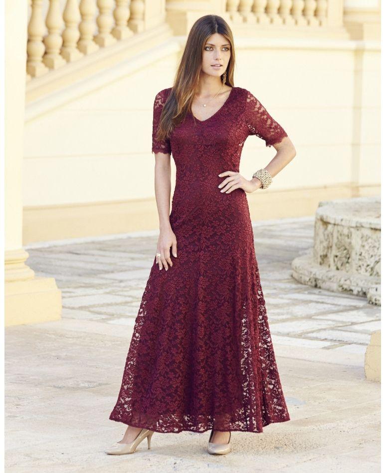 Joanna Hope Lace Maxi Dress   Clothing   Pinterest   Lace maxi ...