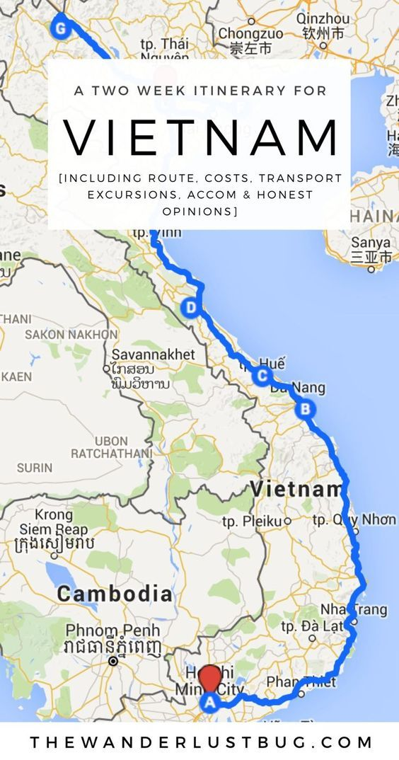 A Two Week Itinerary For Vietnam Vietnam Cambodia