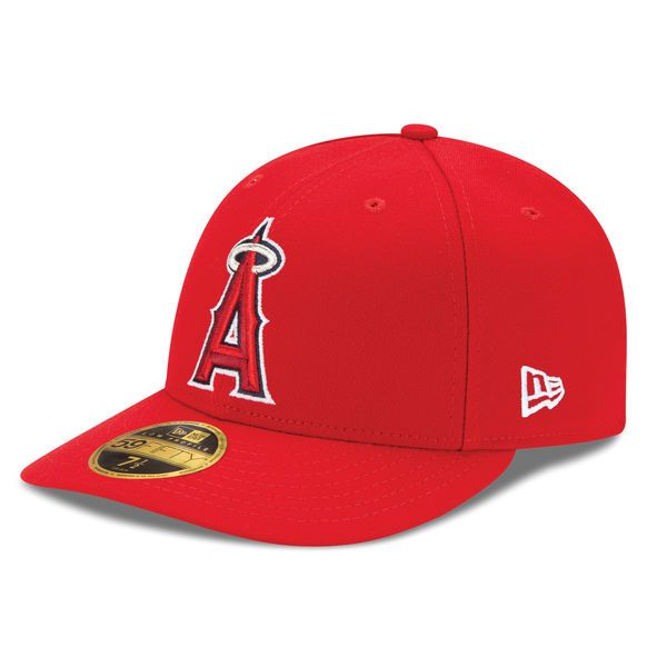 finest selection f695d 4f255 Los Angeles Angels New Era Game Authentic Collection On-Field Low Profile  59FIFTY Fitted Hat - Red