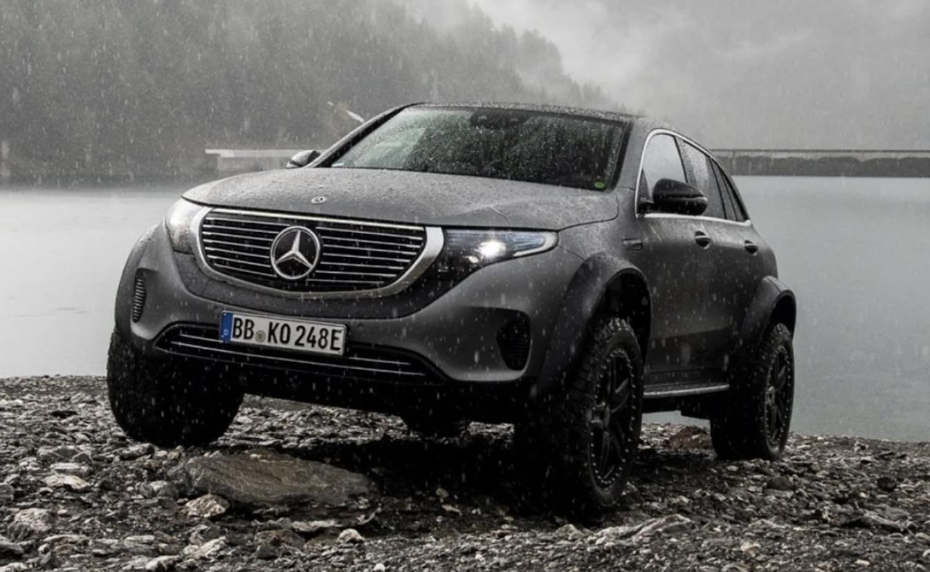 Mercedes Benz Eqc 4x4 Concept Proves Ev Life Isn T Just For City Slickers In 2020 Benz Mercedes Benz Mercedes