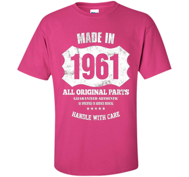Made 1961 Original Parts 56th Birthday 56 Years Old T-Shirt