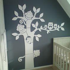 kinderkamer boom mdf | kinderkamer ideeën | ideeën voor het huis, Deco ideeën