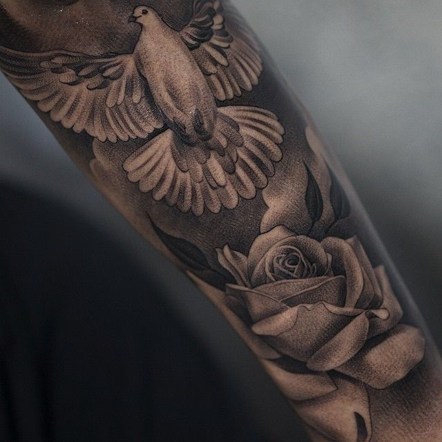 100 Meaningful Dove Tattoos Ultimate Guide December 2018 Part 2