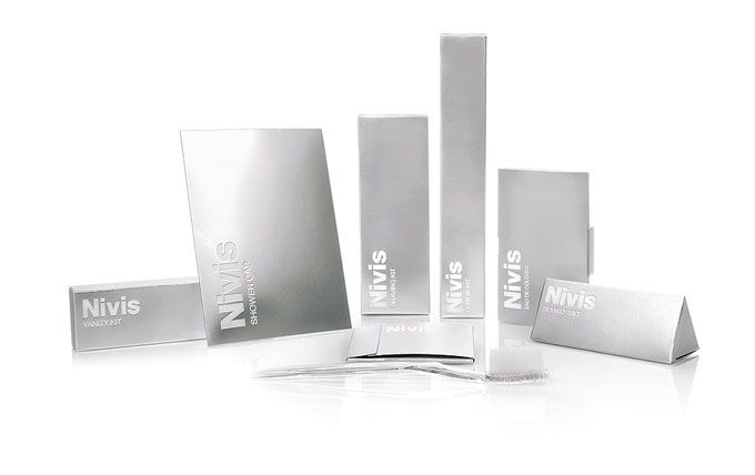 Nivis. Custom brand amenities for hotels worldwide.