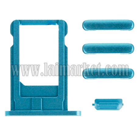 Dark Blue Card Tray Volume Control Screen Lock Mute Switch