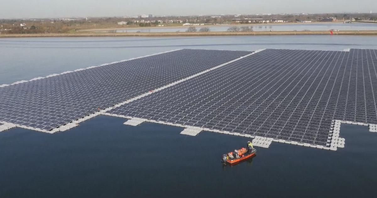 Europe S Largest Floating Solar Farm Is Ready To Switch On