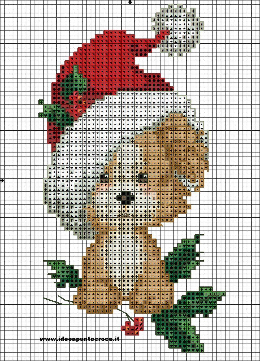 christmas dog cross stitch by syra1974.deviantart.com on ...