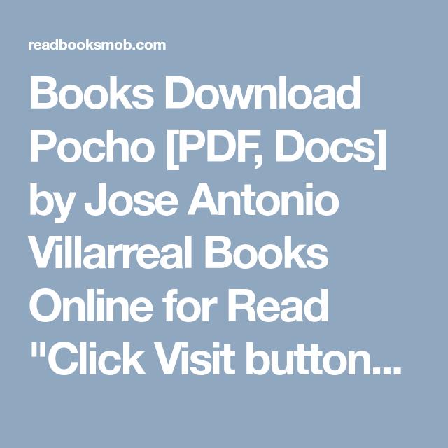 Pocho By Jose Antonio Villarreal Ebook