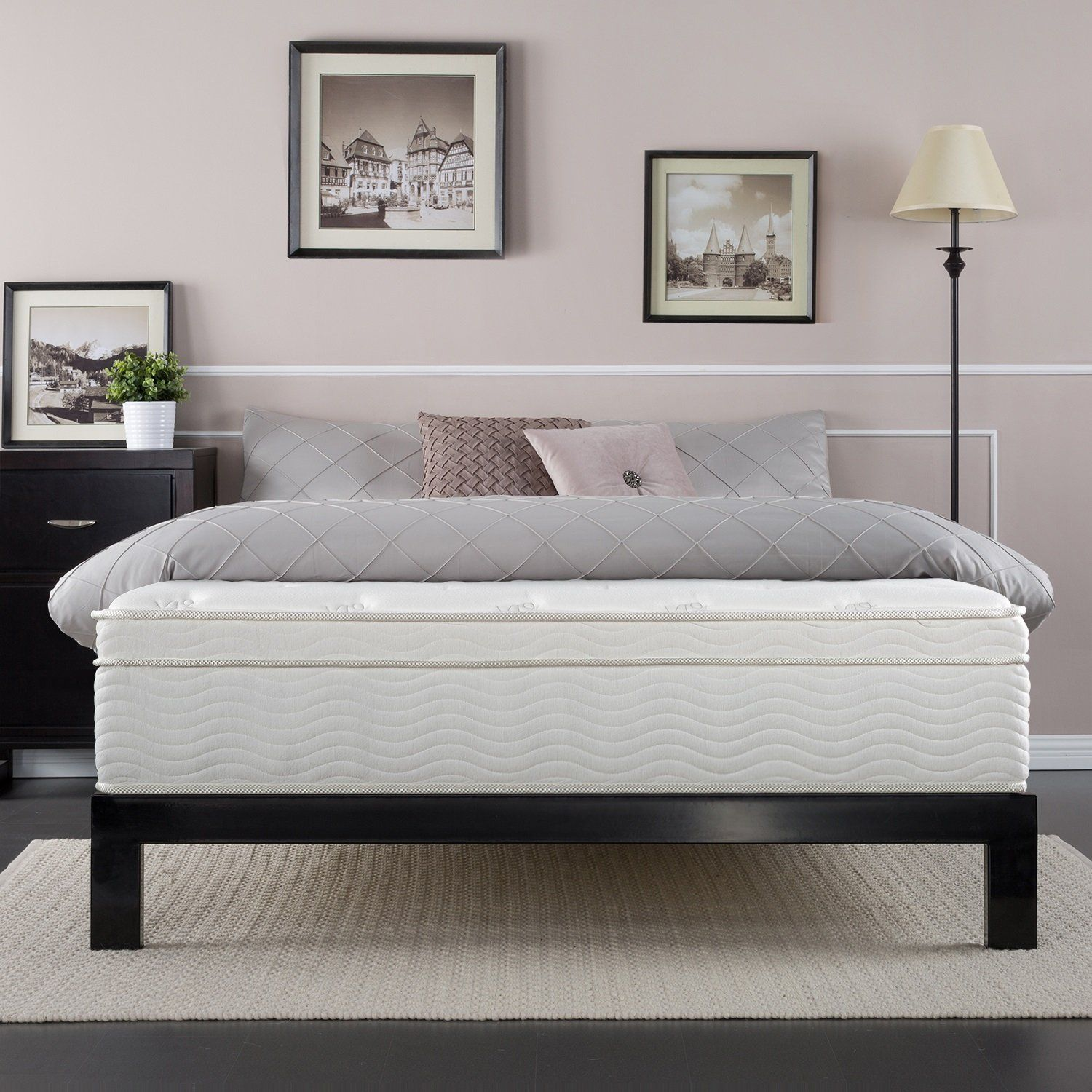 night therapy spring 13 inch deluxe euro box top spring mattress