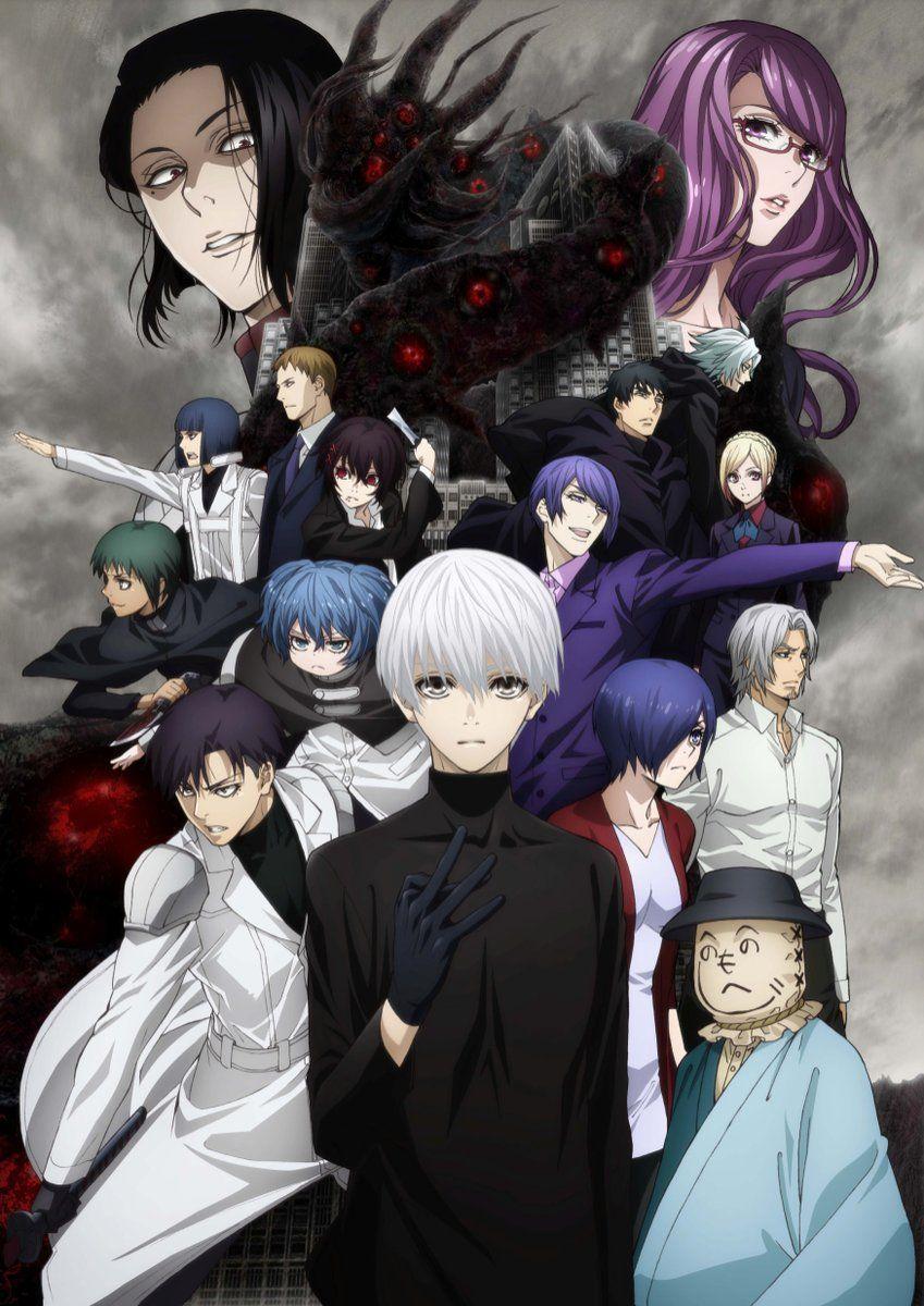 Tokyo Ghoulre la saison 2 de lAnime arrive