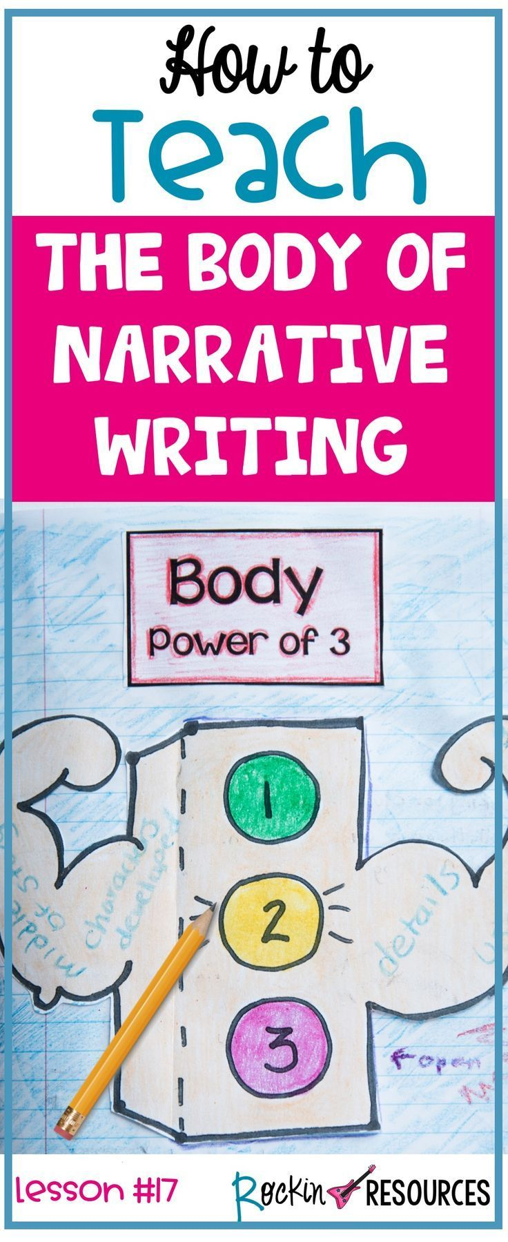 Writing Mini Lesson 17 Writing The Body Section Of A Narrative