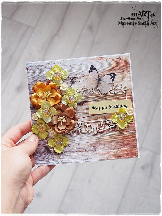 Birthday card 3d greeting card for someone by maremismallart paper birthday card 3d greeting card for someone by maremismallart m4hsunfo