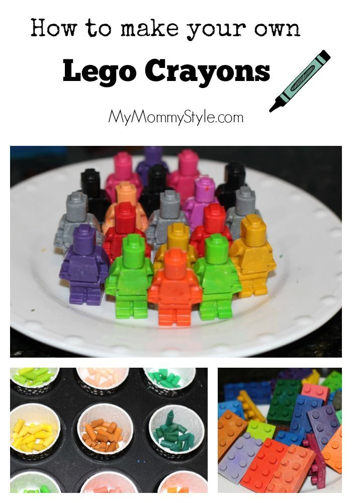 How to make your own LEGO crayons - My Mommy Style | DIY Party Ideas ...