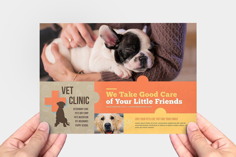 Vet Clinic Templates Pack Pet Care Business Puppy School Vet Clinics