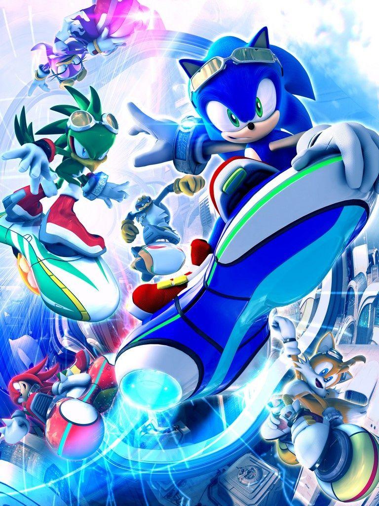Sonic Riders Zero Gravity Sonic The Hedgehog Sonic Hedgehog