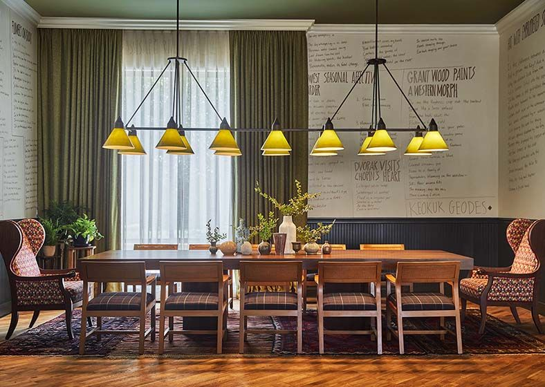 Hotel Iowa City Hospitality Design Restaurant Interior Design Hotel