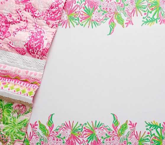 Lilly Pulitzer Picture Perfect Fitted Crib Sheet Lilly