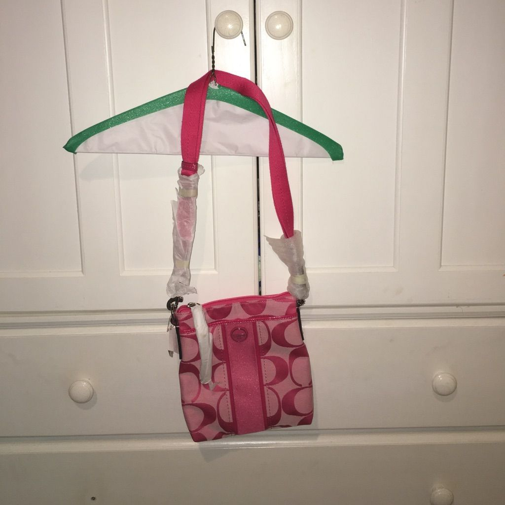 New With Tags! Pink Coach Satchel!