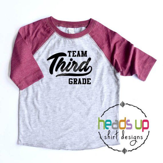 Third Grade Shirt Boy Or Girl Kids First Day Of School T Shirt 3rd